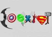 Superhero coexist