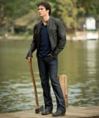 The Vampire Diaries - Damon at Lake House