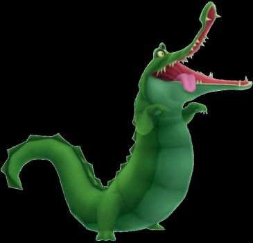 Kingdom Hearts: Crocodile (Peter Pan)