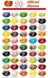 Jelly Belly Flavor Chart Large