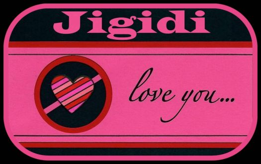 Jigidi - Pinknblack Loves You