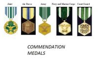 Commendation Medals