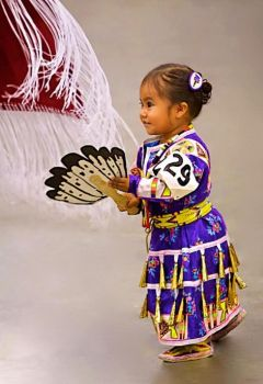 Beautiful Native American Child