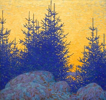 Decorative Landscape by by Lawren Harris