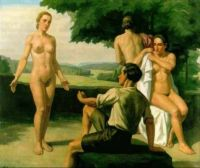 Ivo Saliger - The Judgement of Paris (1939)