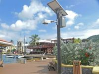 (17) Part of downtown  Christiansted, St. Croix,