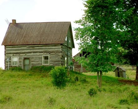 old farm house