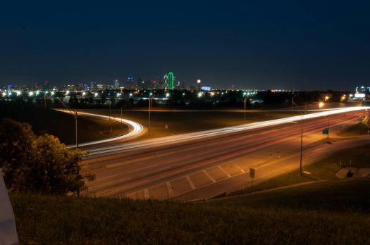 Dallas Sky at Night