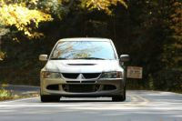 Evo VIII at the Tail of the Dragon