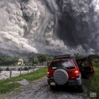 Cloud of Volcanic Ash