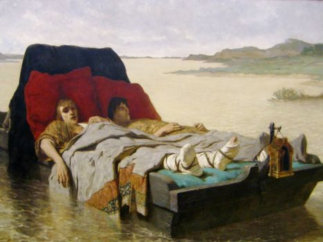 Evariste Vital Luminais - The Sons of Clovis II (1880)