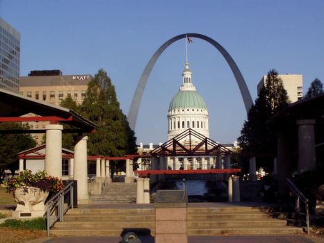 St. Louis and the Arch