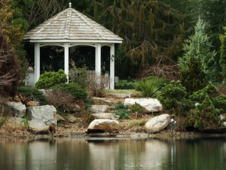 Gazebo off the Lake