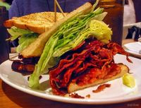 a BLT from the now defunct Carnegie Deli in New York City.