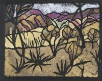 Margaret Preston, A mile out of Alice Springs 1949
