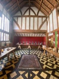 A stunning medieval townhouse once home to the Priors of Nostell and Mayor of York. Rebuilt to match with the original features, horn windows, handmade floor tiles