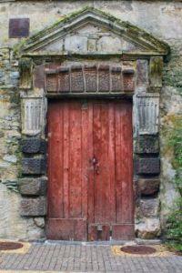 Door at Fresnay sur Sarthe