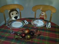 Lion & Bear Romantic Dinner