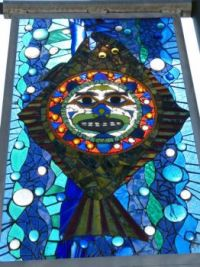 Stain glass work