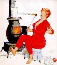 Hilda, when marshmallow toasting goes wrong!