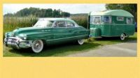 1952 Buick Riviera Hardtop with Matching Trailer