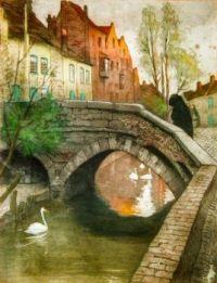 Le pont flamand à Bruges