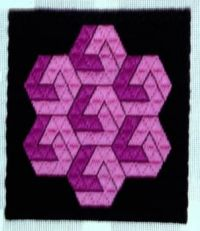 trianglepoint bargello needlepoint - 6
