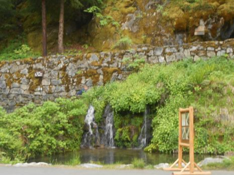 Another Pool & Waterfall, Across From the Chateau