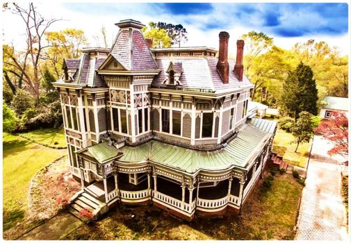Solve Parrott Camp Soucy House East Newnan Georgia Usa Jigsaw Puzzle Online With 54 Pieces