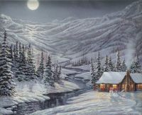Winter Time in the Valley.  Buddy Cauley