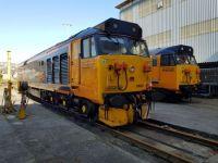 50049 & 50007 at Laira Depot