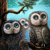"All About Owls Series - ""Three Little Hoots"""