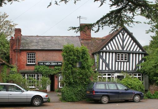 The Three Kings Inn, Hanley Castle, Worcestershire.  Photo by Bob Embleton