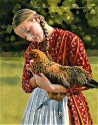Heide Presse- Catherine La Rose -Painting
