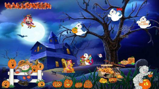 Halloween scene | 45 pieces jigsaw puzzle