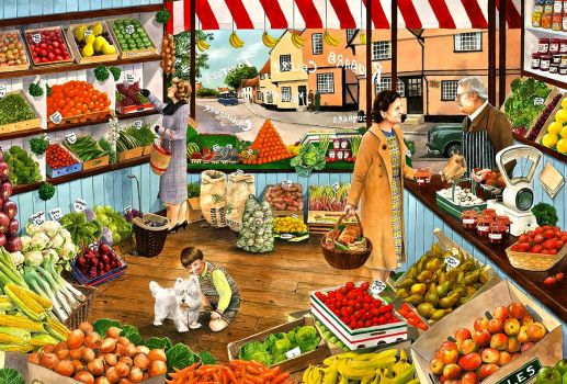 THE GREENGROCER'S SHOP