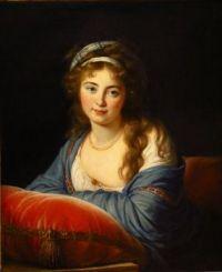 Louise Élisabeth Vigée Le Brun Portrait de la comtesse Skavronskaia 1796