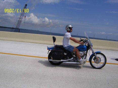 Son Riding My Bike Florida 2006