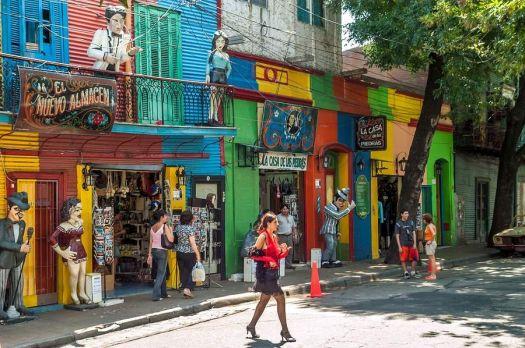 The La Boca barrio - Buenos Aires