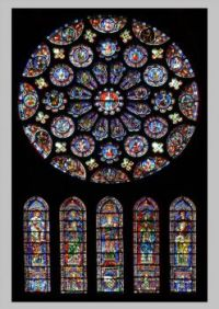 Notre Dame de Paris South Rose Window