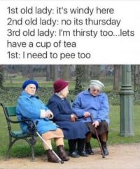Love the old ladies
