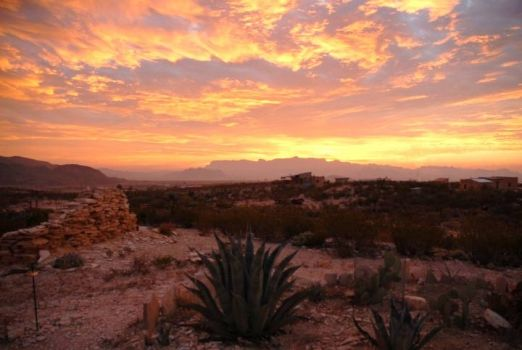Terlingua Texas Sunset