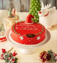 Christmas Santa's cake