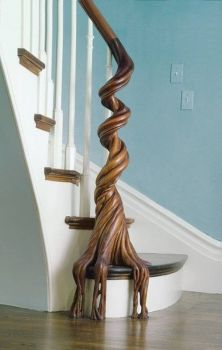 Old Growth Banister