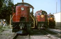 Arkansas & Missouri RR. Springdale, AR. August 1988