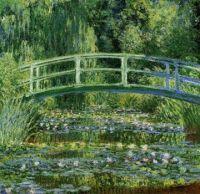 Claude Monet - Water Lilies and Japanese Bridge - 1898