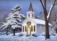 Beautiful Christmas Church