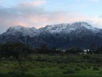 Worcester.   South Africa.  Langeberg Mountains.