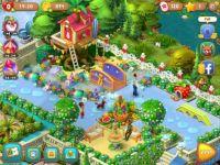 Gardenscapes 2991 Magic Bridge