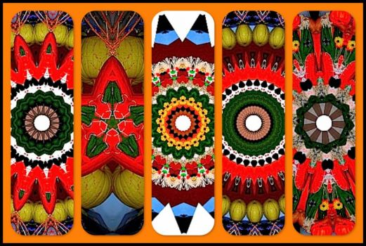 Halloween Scarecrows! KaleidoBOARDS